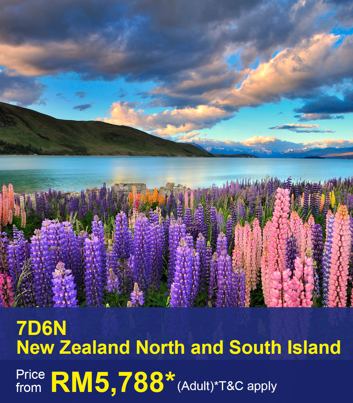 UOB-7D6N New Zealand North and South Island